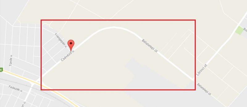 17. kerület, Csévéző, Bélatelepi út nagy kátyúk, rossz minőségű út
