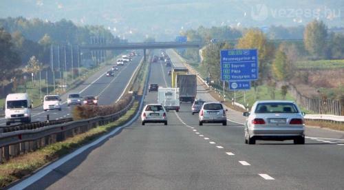 Forgalomkorlátozások lesznek az M3 autópályán Budapest térségében