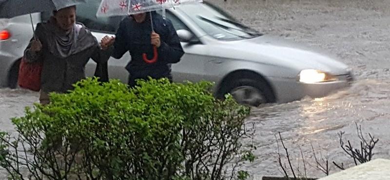 Rengeteg rendszámot találtak a budapesti özönvíz után, hátha az öné is köztük van