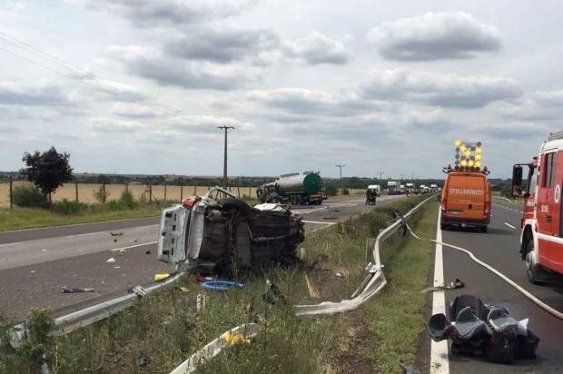 Friss fotó az M3-as autópályán történt borzalmas balesetről