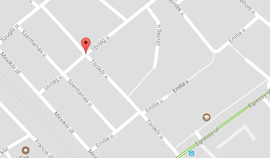 14. kerület Törökőr utca egyirányú lett az Egressy út felől