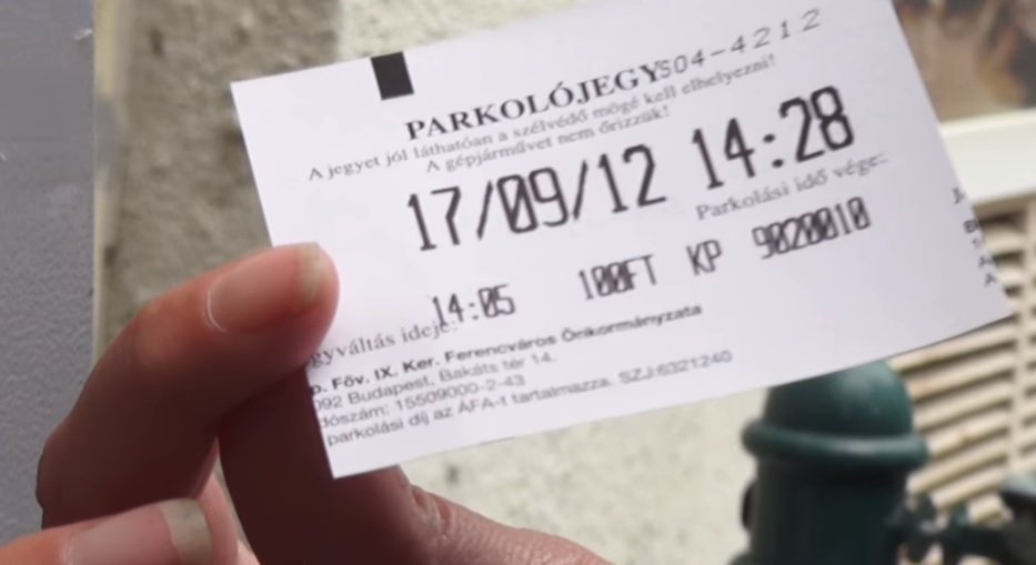 Valakik nagyon megbuherálták a ferencvárosi parkolóautomatákat-VIDEÓ