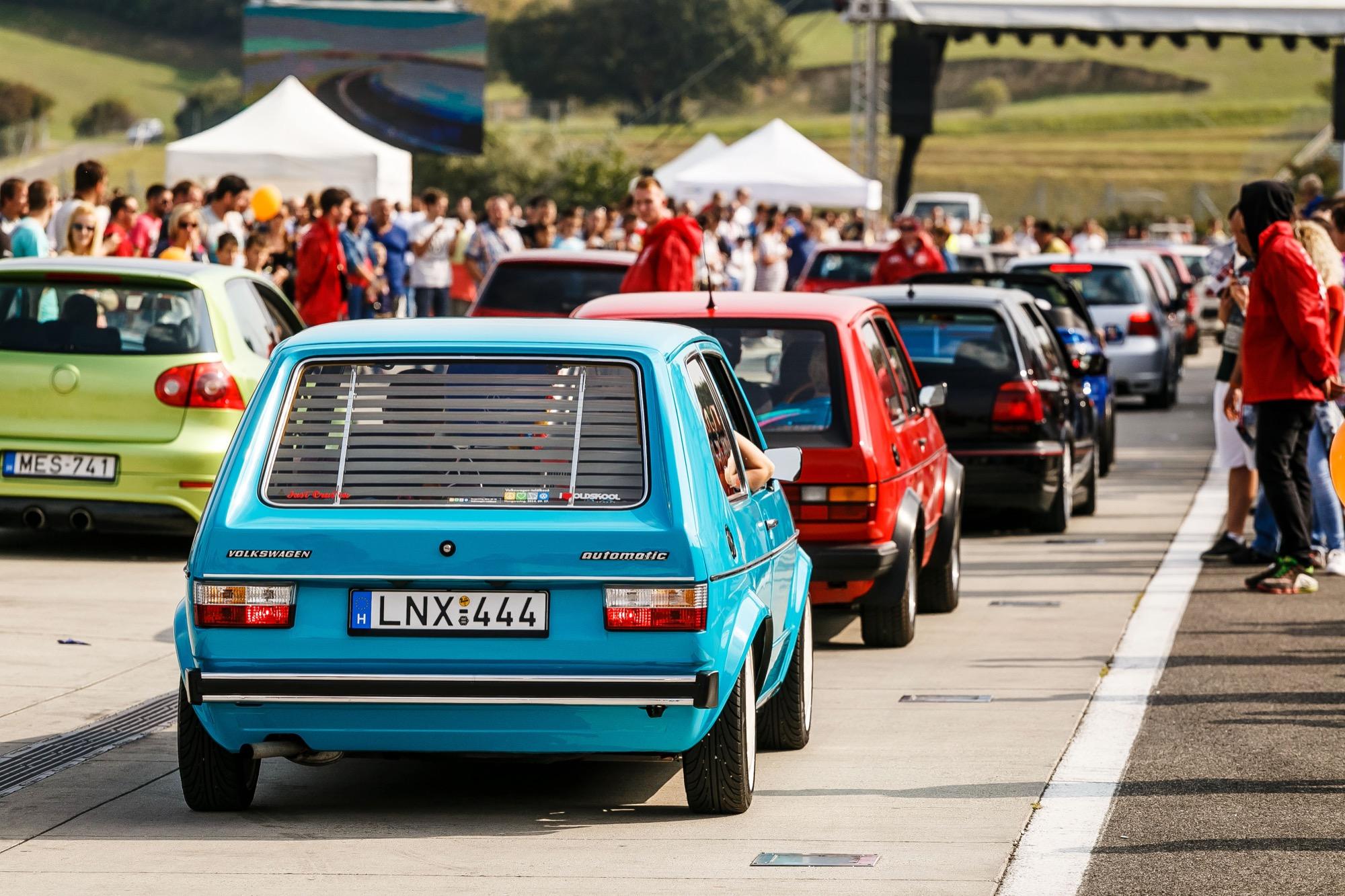 Szombaton rendezik meg a VI. Volkswagen találkozót a Hungaroringen