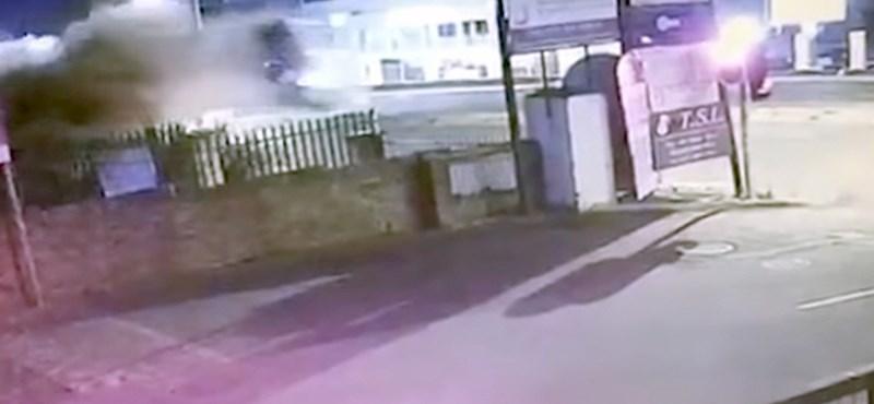 Ez az egyik legelképesztőbb baleset, amit eddig láttunk – videó