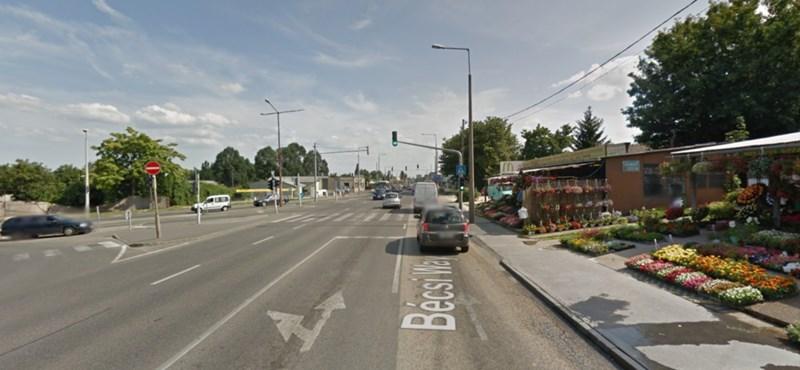 Óbuda szerint Tarlósék egyoldalúan változtatták meg a Bécsi úti forgalmi rendet