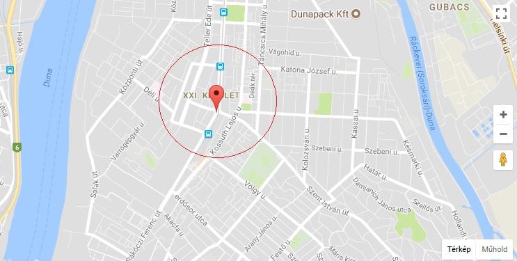 Gyalogost ütött el egy kamion Budapesten