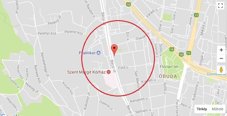Csúnya baleset volt reggel a 3. kerületben