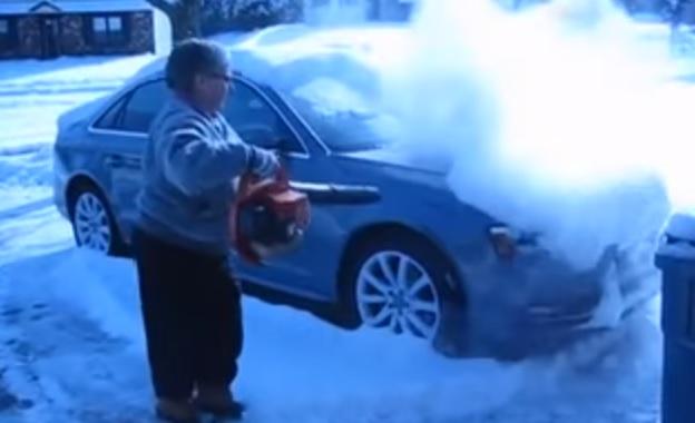 Gondolj másokra, ne indulj el hó és jég borította járművel mert veszélyes