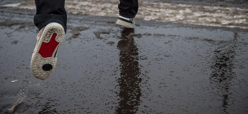 Vigyázat, jön az ónos eső!