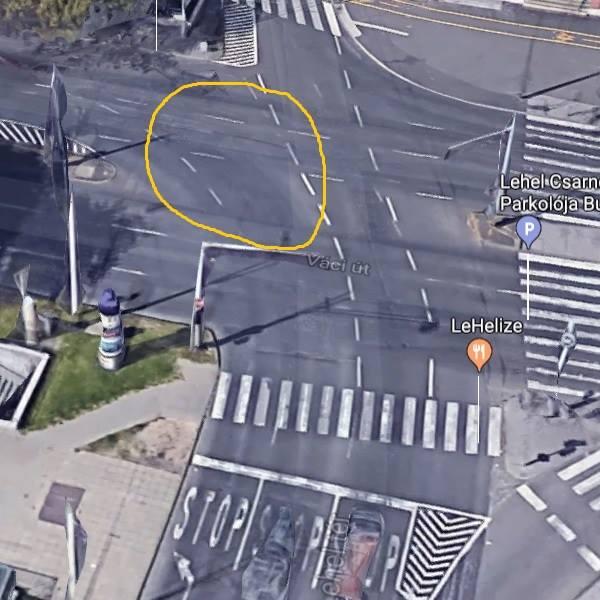 Figyeljetek a Lehel térnél a buszsáv miatti sávelhúzásra! Köszi az infót olvasónknak