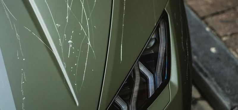 Ebből a Lamborghiniből csak 250 van a világon, de a vandálok most megrongáltak egyet