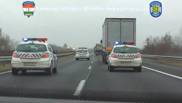 Egy hét alatt, több mint 800 szabálytalan teherautóst és buszsofőrt fogott a rendőrség