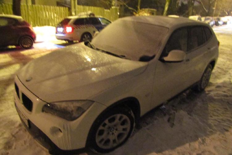 Pofátlan autótolvajt fogtak a rendőrök Budán