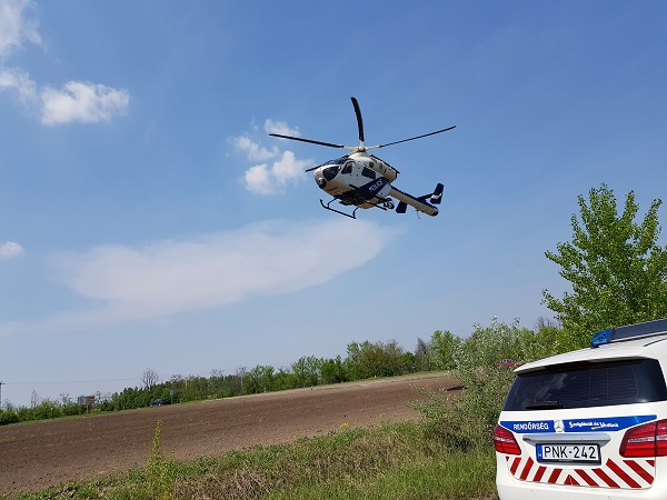 Helikopterről is figyelték a szabálytalankodókat