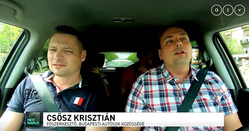 VIDEÓ: Autó, BKV, vagy Bringa / Budapesti közlekedés teszt – ATV Heti Napló – 2018.04.29
