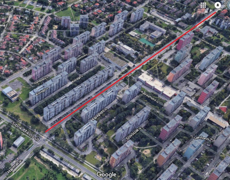 A nap kérdése: Hány éve van felmarva a Harmat utca a 10. kerületben???