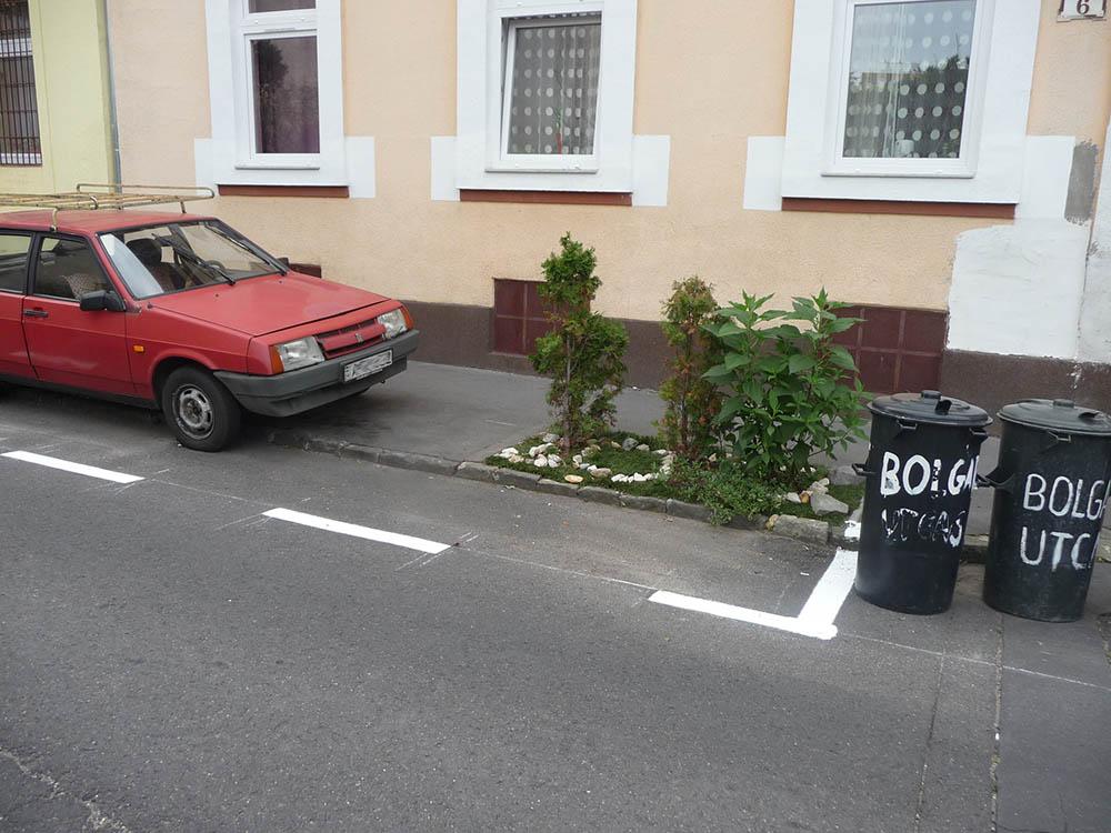 A jogszabály az jogszabály, egy autónak annyi hely jár, amennyi abban rögzítve van