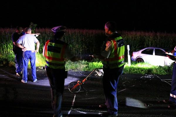 Motorost gázoltak halálra Somogyban – Megrázó helyszíni képek