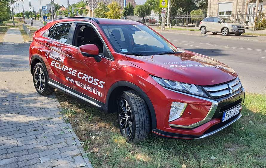 Videó: Mitsubishi Eclipse Cross Teszt