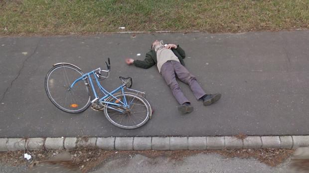 Tudtán kívül lett híres Fekete Imre, a járdán fekvő biciklis, akinek fényképe bejárta az elmúlt napokban az internetet