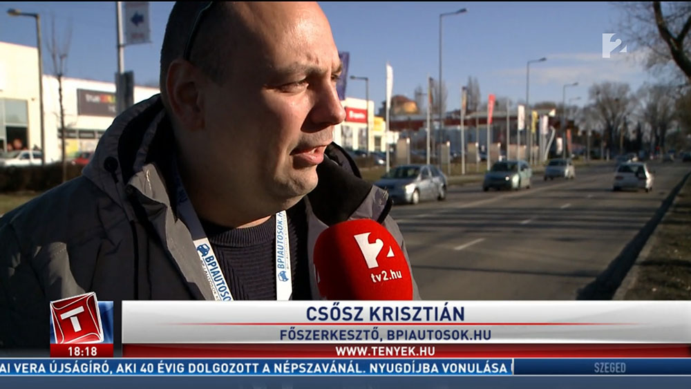 TV2: Házak között, a szűk utcán száguldoztak