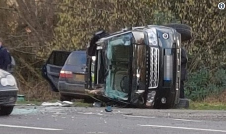 Felborult Land Roverével, visszaadta a jogosítványát a 98 éves Fülöp herceg