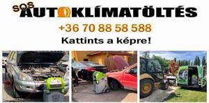 SOS Autóklíma töltés