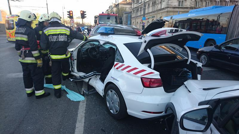 Fotók – Egy ismert Magyar zenész is érintett volt a tegnapi balesetben