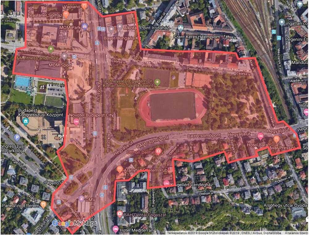 Jövő szerdán evakuálják a MOM Park és a Csörsz utca környékét