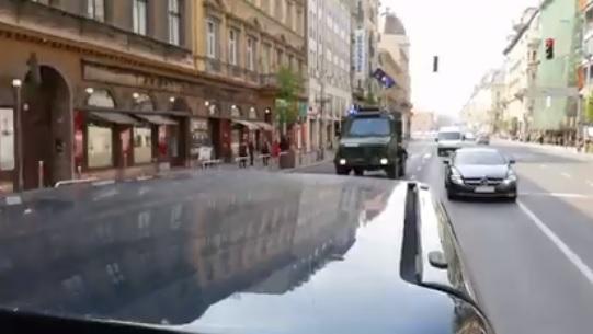 Videó – Már feloldották a zárást a BAH-csomópontnál, újraindult a forgalom