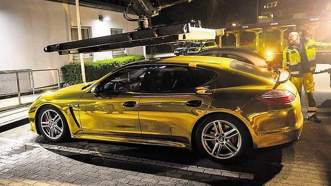 Csillog az arany az autókon, a németek pedig büntetik is