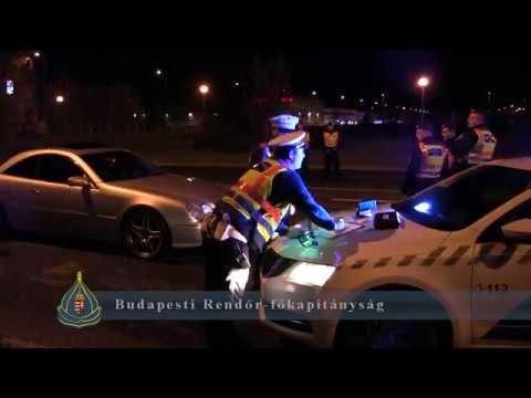 Rendőrségi akció volt péntek éjjel. Tuning autósokat ellenőriztek