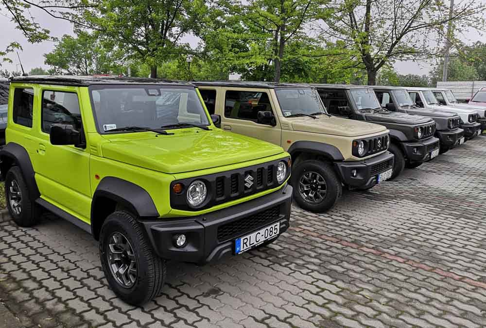 Személyautóként nem, haszonjárműként viszont eladható a Suzuki Jimny Európába