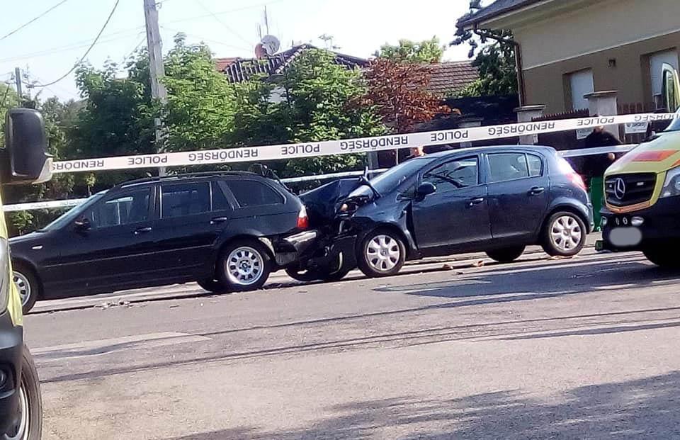 Rosszullét okozhatott ráfutásos balesetet Csepelen. Egy ember elhunyt