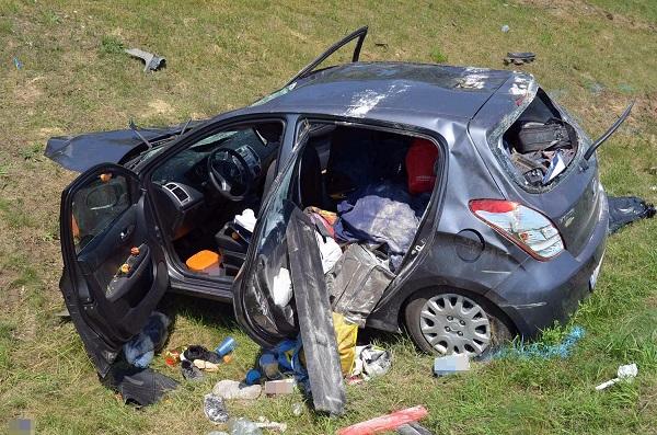 Fotók – Halálos baleset történt vasárnap az M5-ön