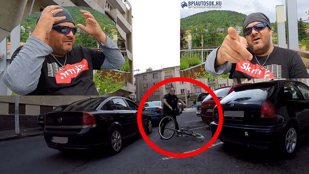 VIDEÓ: Óriási joghézag a kerékpáros közlekedés szabályozásában