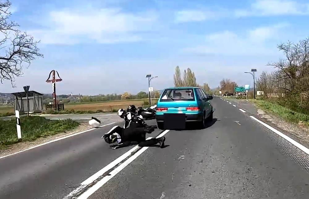 Videón egy hazai, sokkoló baleset
