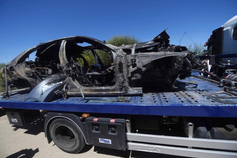 237 km/h-nál robbant fel a kerék – Ez okozta  Reyes halálát