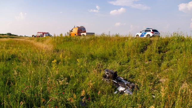 Halálos motorbaleset  Soltnál, egy fiatal lány halt meg