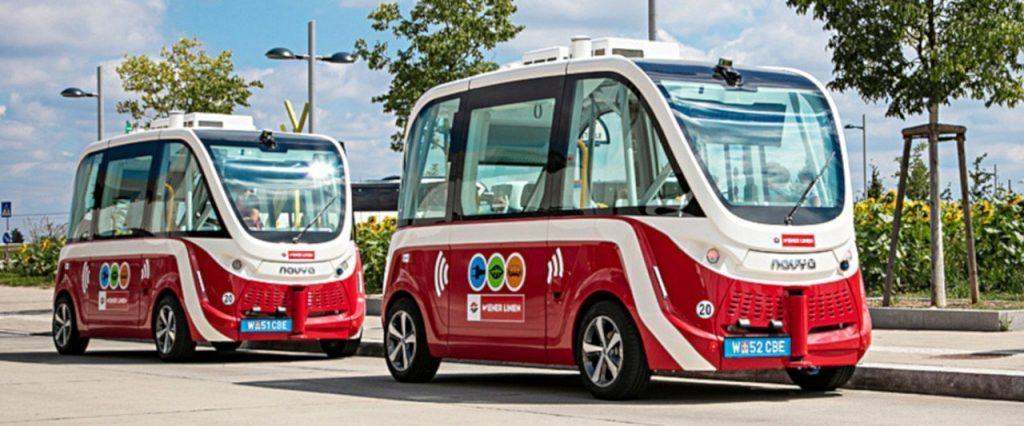 Gázolás miatt felfüggesztették Bécsben a robotbuszok közlekedését