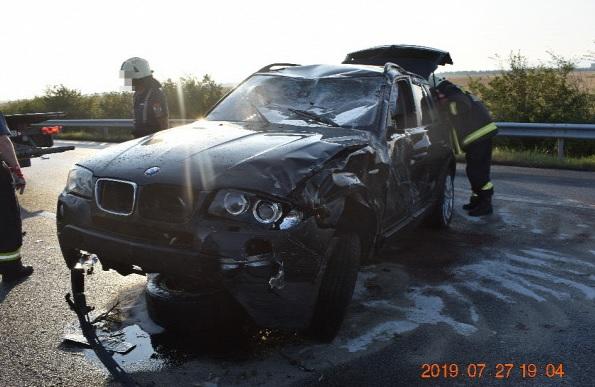 Fotók – Kísértett a horvátországi tragédia, drogos autós pusztított az M3-ason