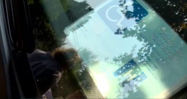 Videó – Órákig volt rabosítva a magyar anya, mert elsietett egy parkolást