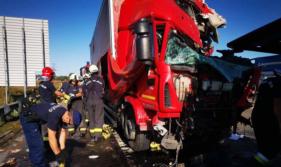 Halálos baleset történt az M1-es autópályán