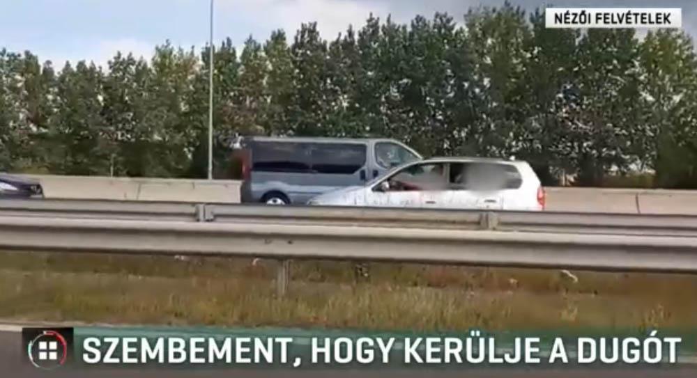 VIDEÓ: Kimaxolták az M5-ösön a dugóelkerülést