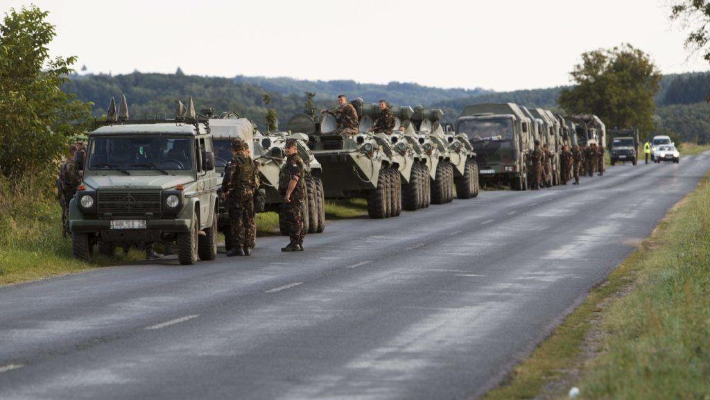 Figyelem: Mától katonai konvojok közlekednek több forgalmas útszakaszon
