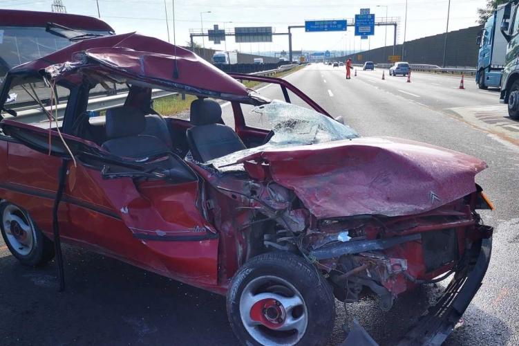 Fotók – Halálos baleset történt reggel az M0 autóúton