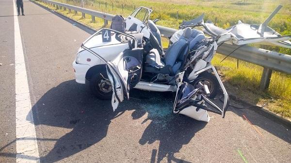 Fotókkal frissítve – Halálos kimenetelű baleset az M5-ös autópályán