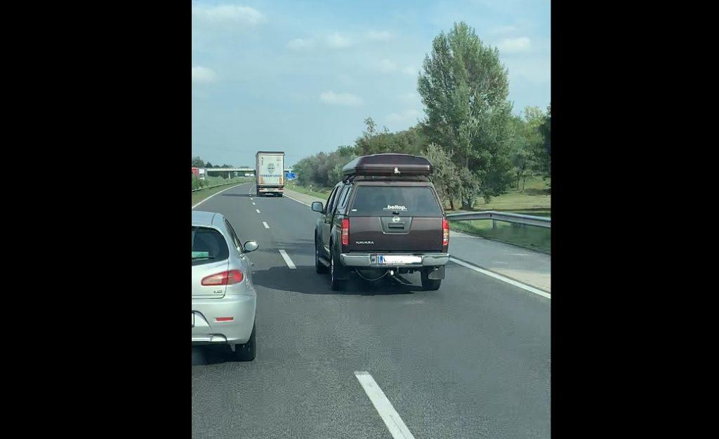 VIDEÓ: Osztrák büntette jobbratartás hiánya miatt a magyar autóst, az M1-esen