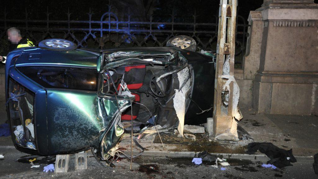 Fotók – Halálos baleset történt este a Szent Gellért rakparton