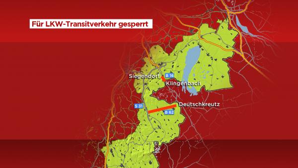 Ausztria két átkelőről kitiltja a magyar teherautókat